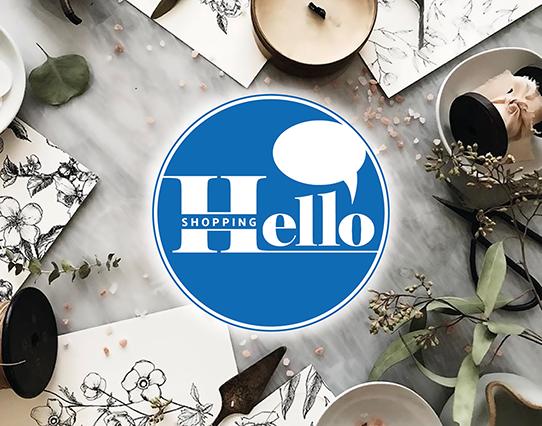 Hello Shopping Banner